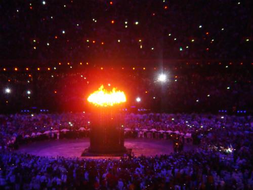 fuego olímpico